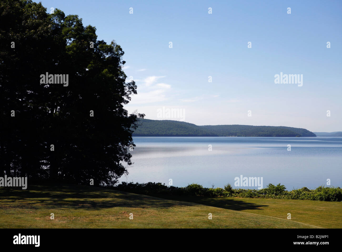 Quabbin Reservoir, public water supply for the city of Boston - Stock Image