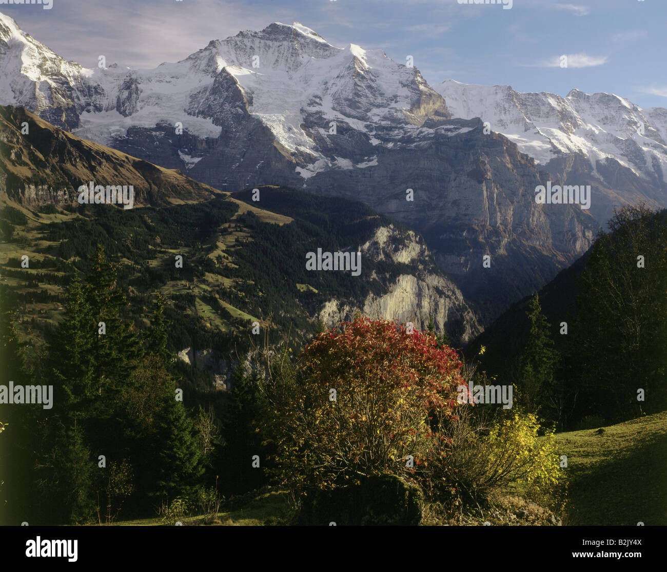 geography / travel, Switzerland, Bern, landscapes, Additional-Rights-Clearance-Info-Not-Available - Stock Image