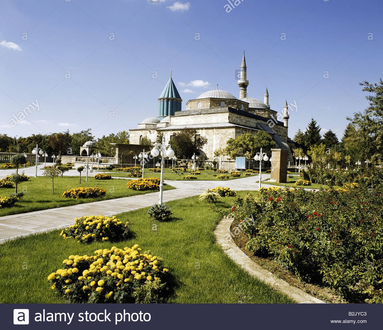 geography / travel, Turkey, Konya, churches / monasteries, Melvana monastery, exterior view, Additional-Rights-Clearance - Stock Image