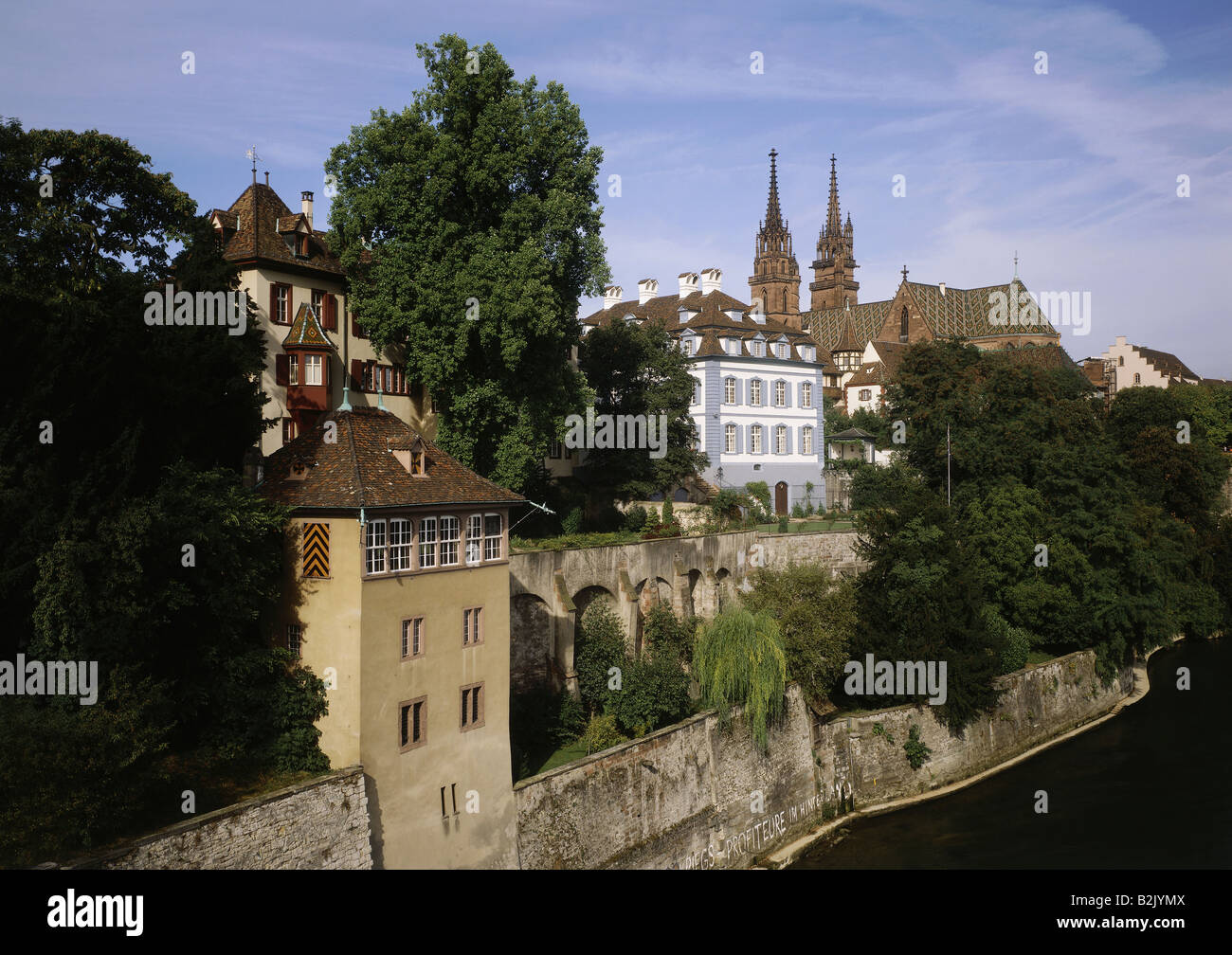 geography / travel, Switzerland, Basel-Stadt, Basel, , Additional-Rights-Clearance-Info-Not-Available - Stock Image