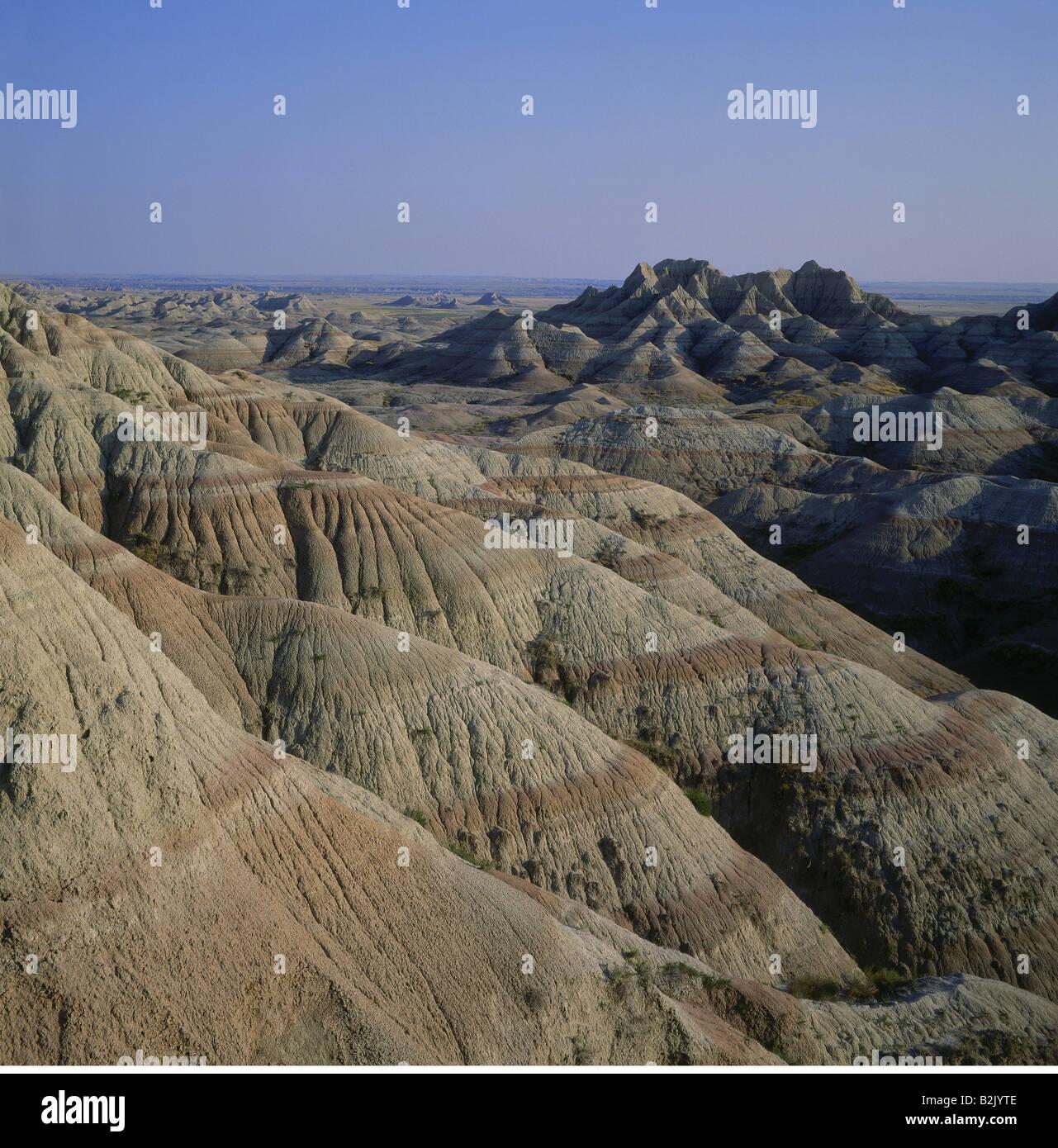 Travel Geography: Big Badlands Overlook Stock Photos & Big Badlands Overlook