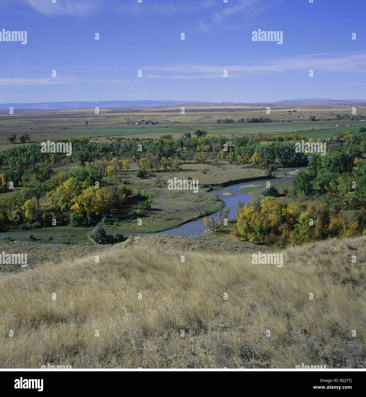 Travel Geography: Bighorn River Stock Photos & Bighorn River Stock Images