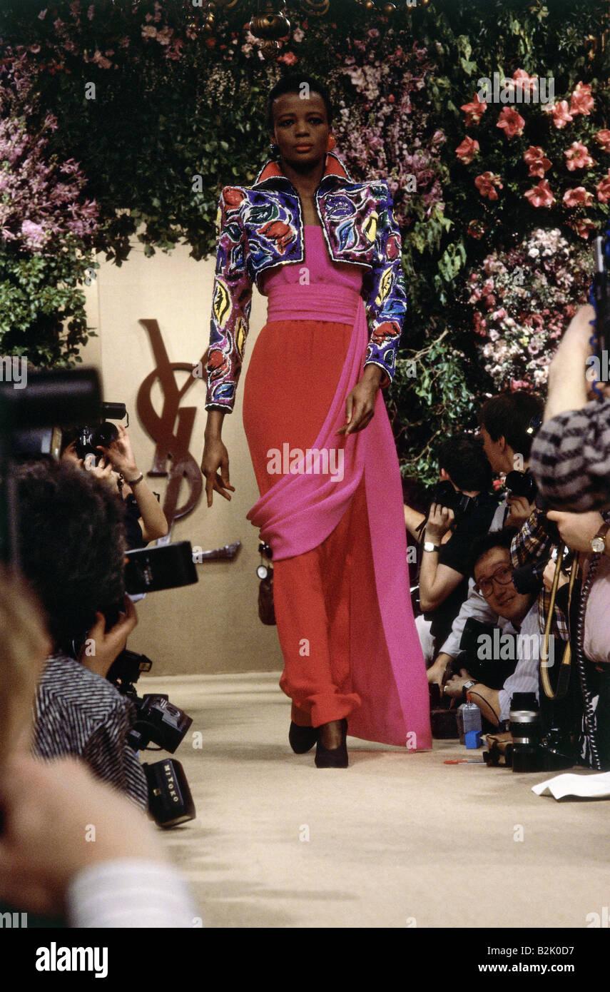 Saint Laurent Fashion Show Paris