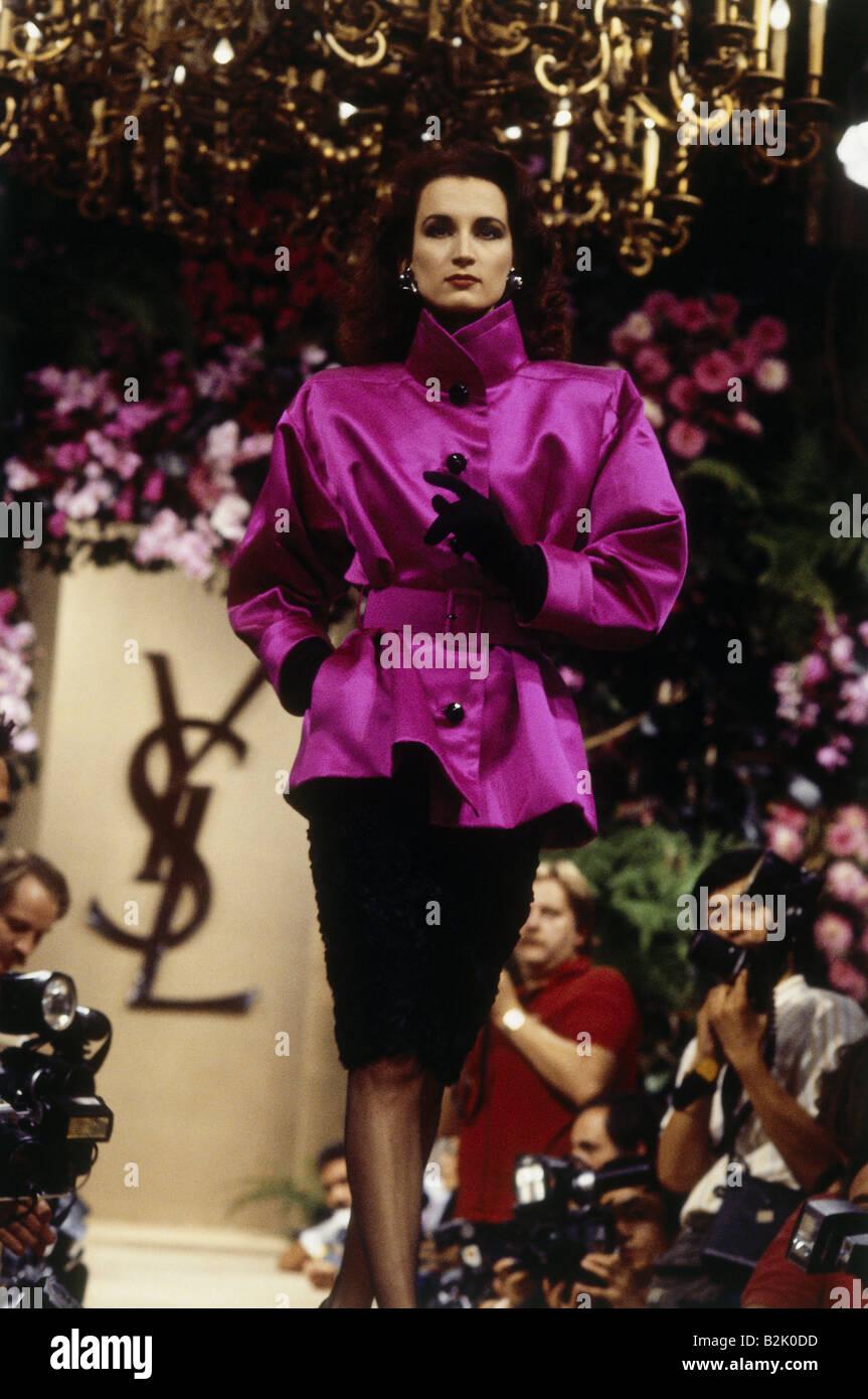 fashion, fashion show, Haute Couture, Paris, Yves Saint ...
