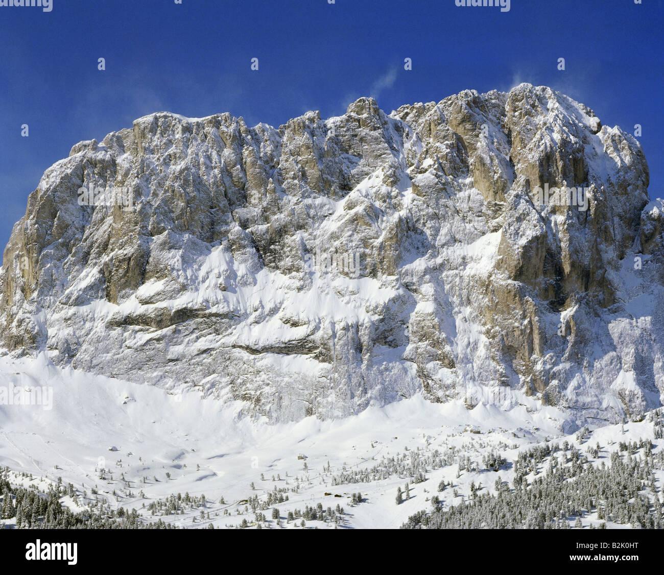 Travel Geography: Passo Gardena Stock Photos & Passo Gardena Stock Images