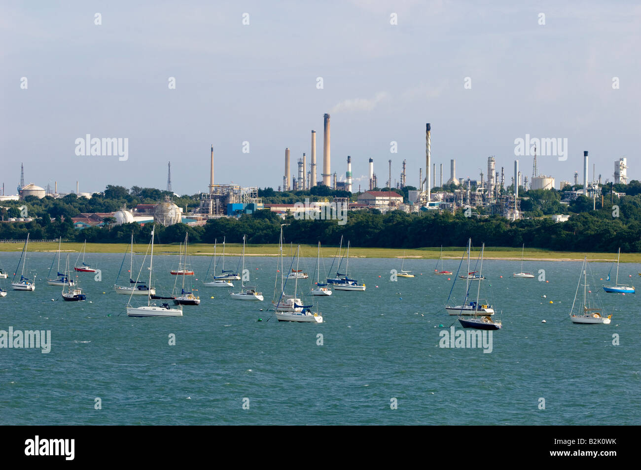 Yachts and boats in marina Southampton United Kingdom - Stock Image