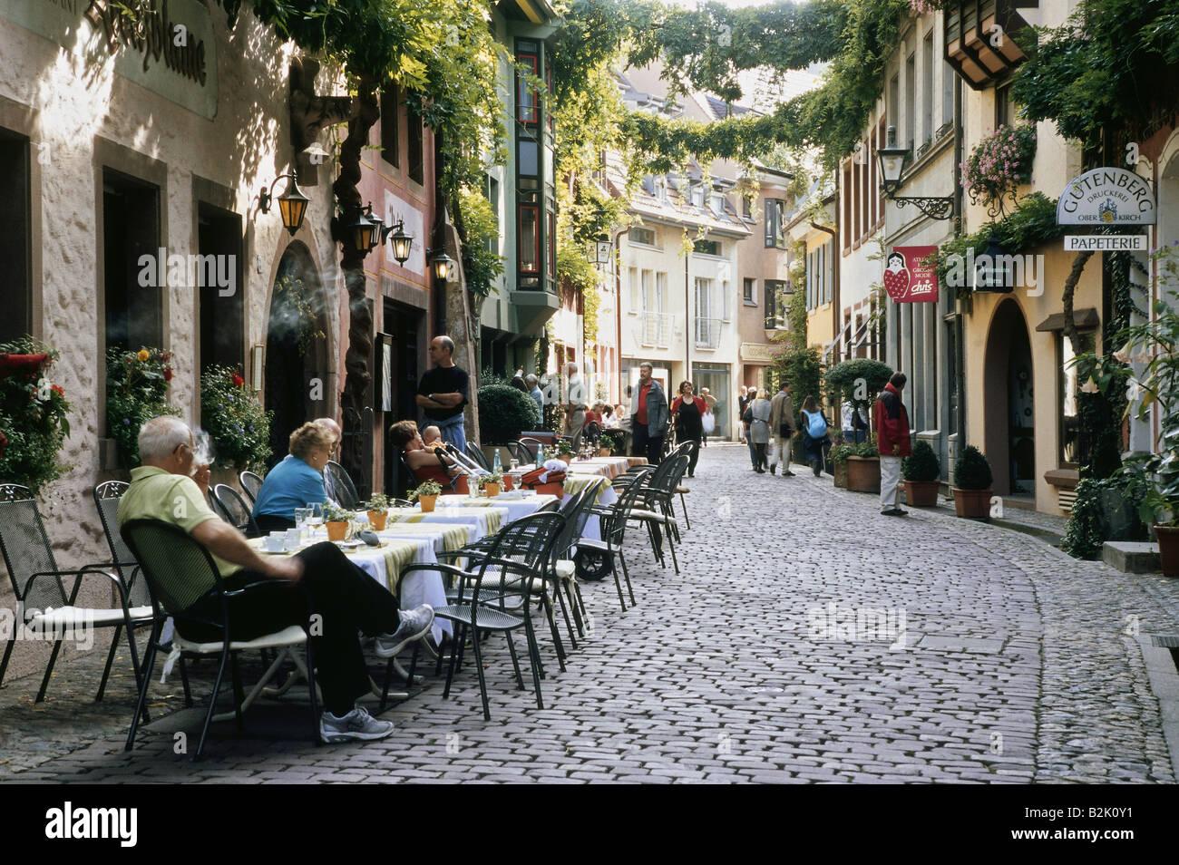 Cafe In Freiburg City