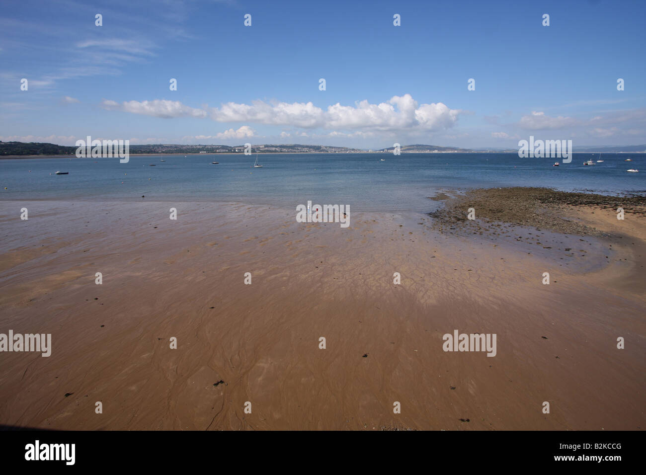 Swansea Bay West Glamorgan - Stock Image