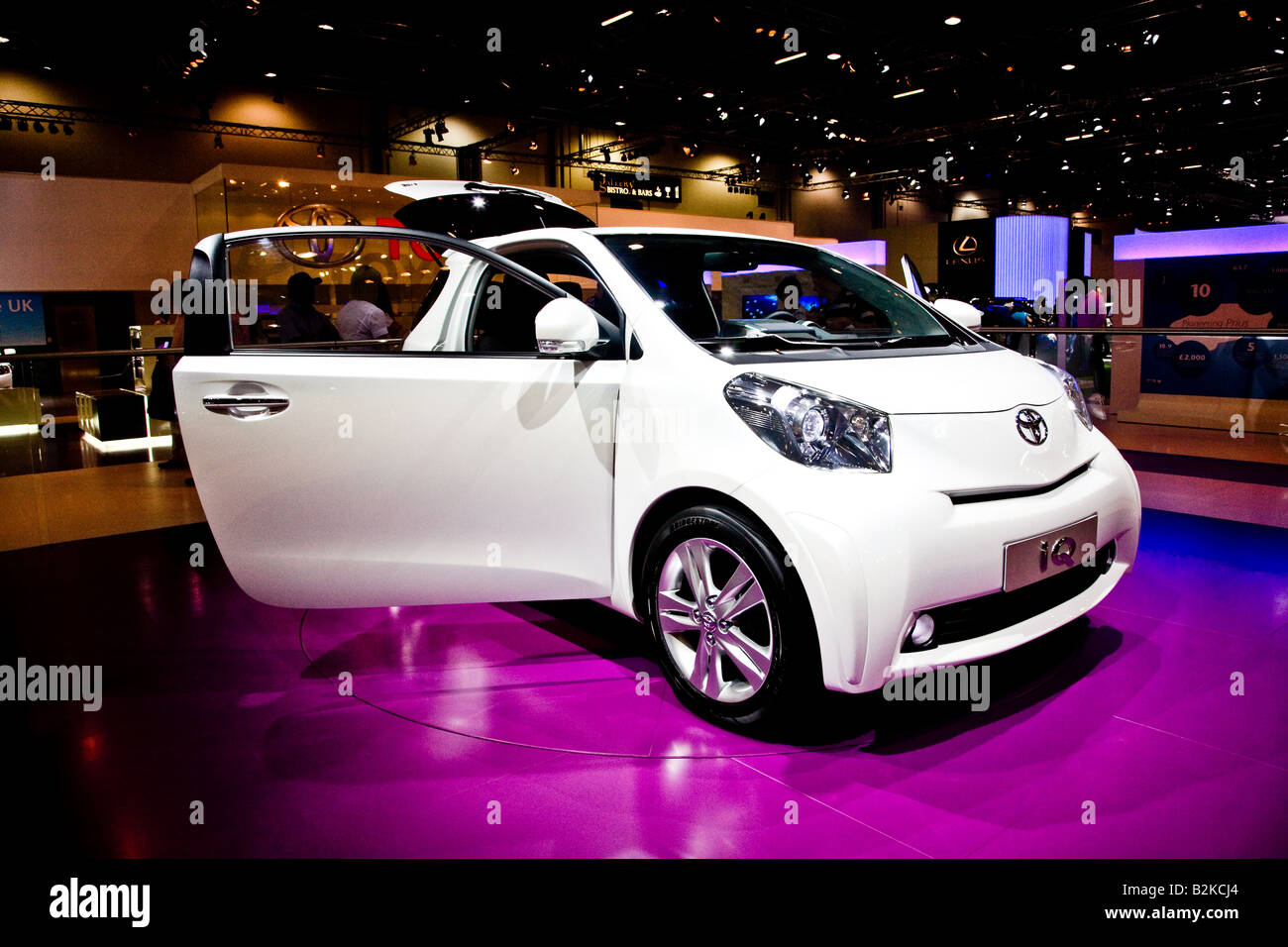 Toyota IQ at the British International Motorshow - Stock Image