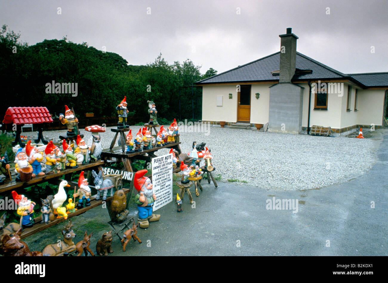 Garden Gnome Collection Stock Photos & Garden Gnome Collection Stock on