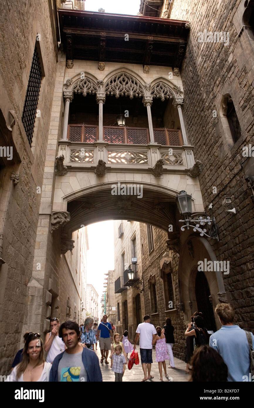 Barcelona Catalonia Spain - Stock Image