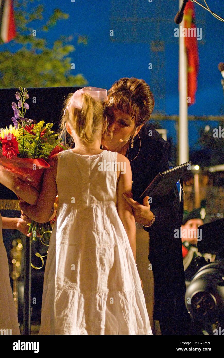 Nine-year-old Taisiya Maslyakova performed at the leading large concert 05.27.2015 21