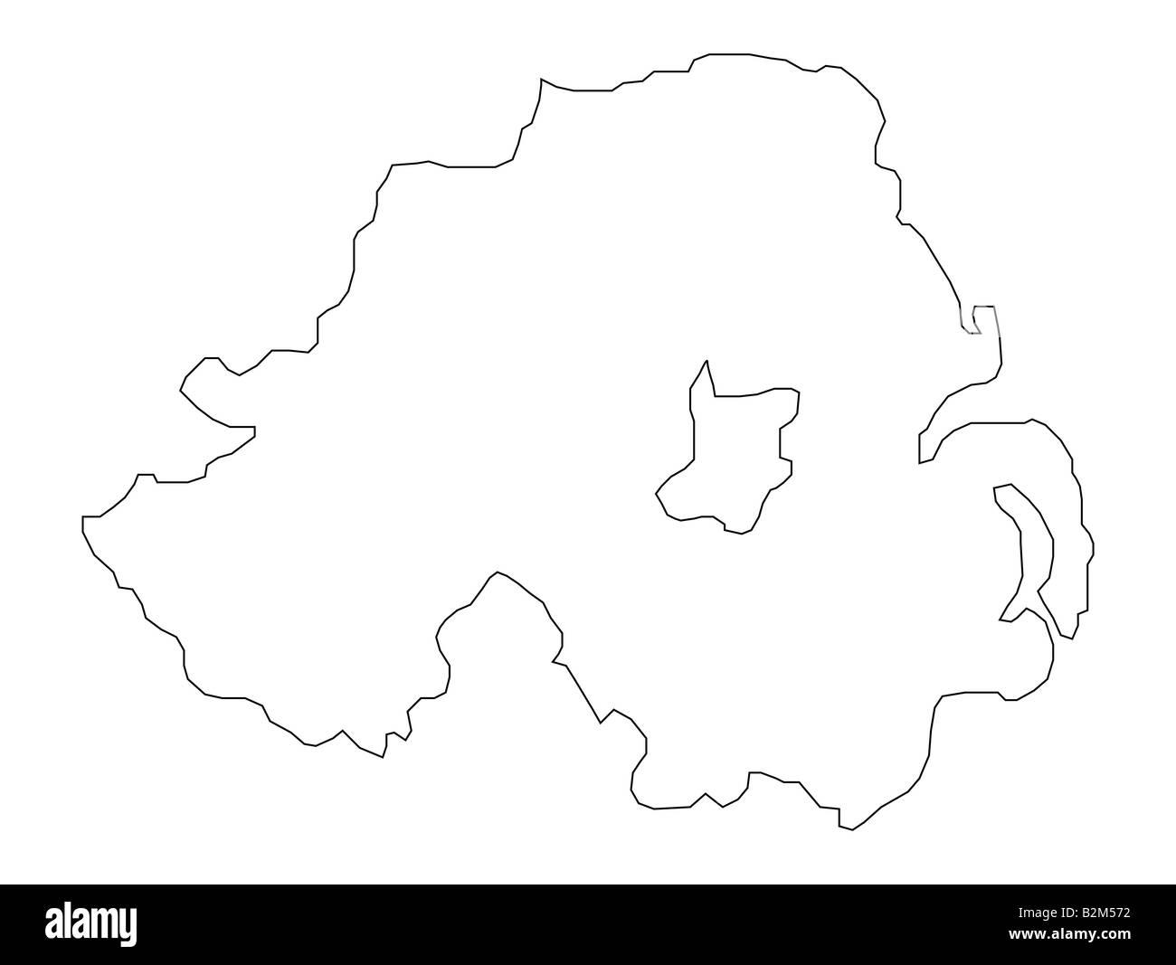 Map Of Ireland Black And White.Map Of Ireland Black And White Stock Photos Images Alamy