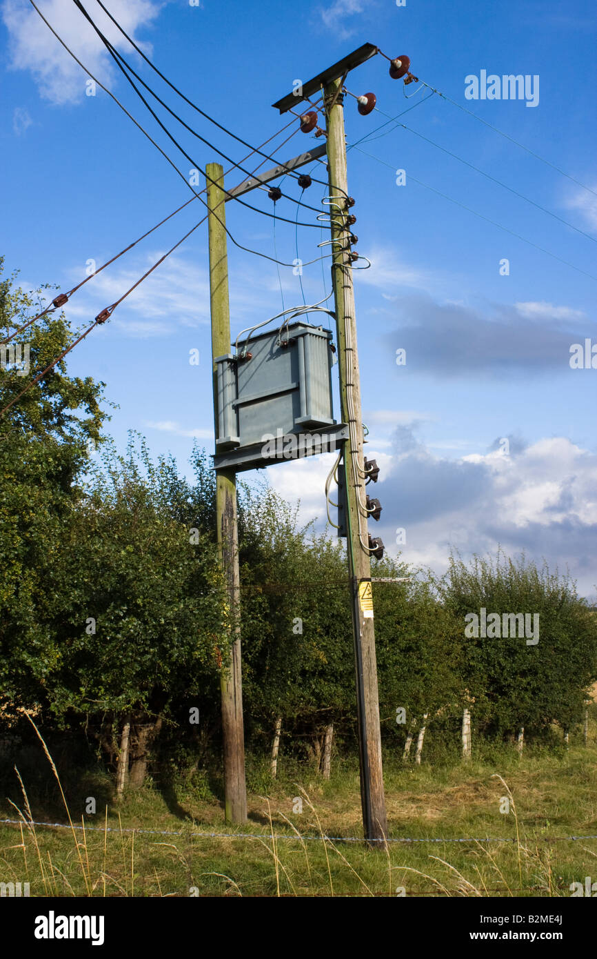 Phone Wiring Box Pole Custom Diagram Outdoor Electricity Junction On Telegraph Poles In A Rural Environment Rh Alamy Com Telephone Interface