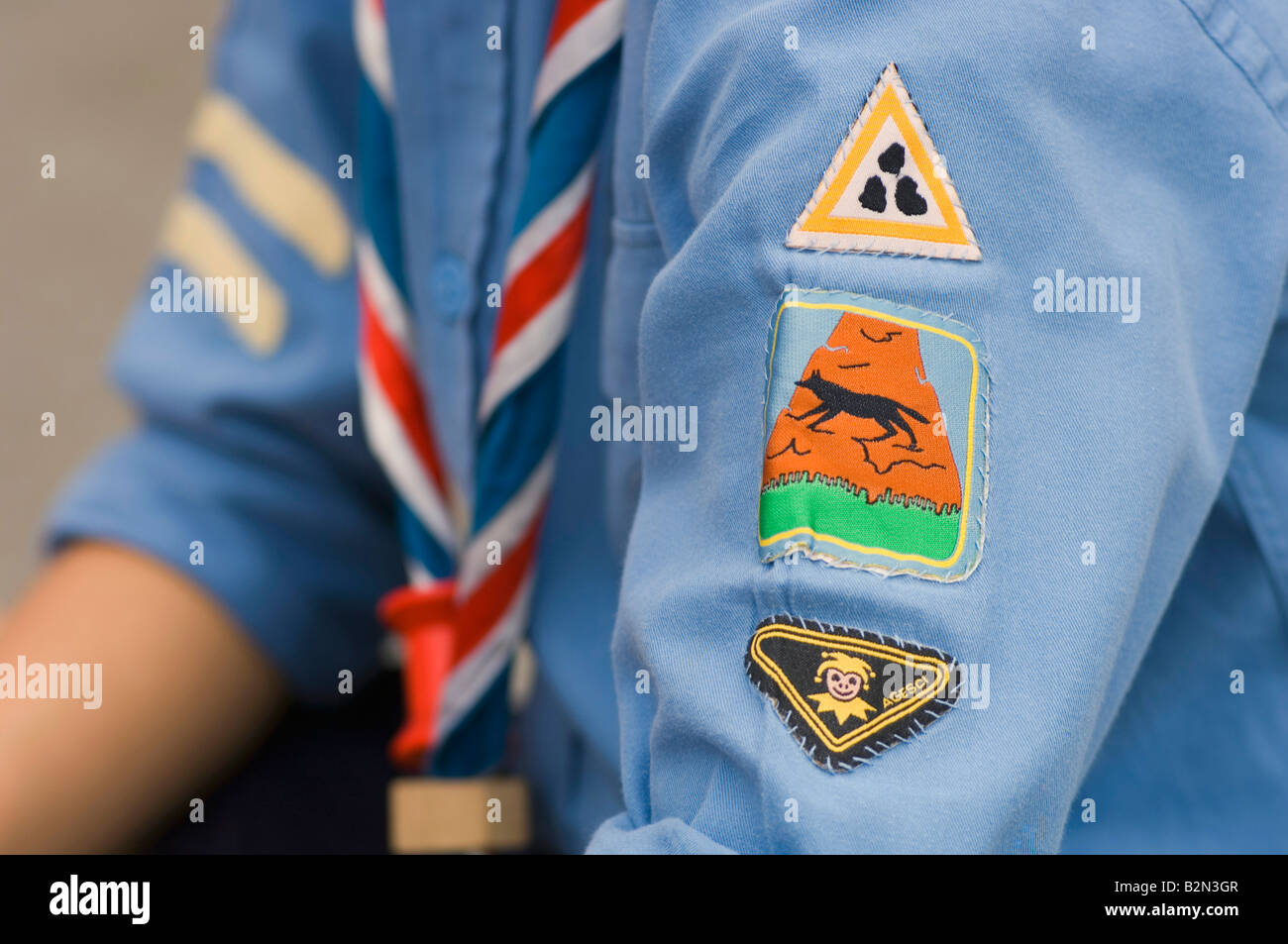 badges and fellowship, torre boldone, Italy - Stock Image