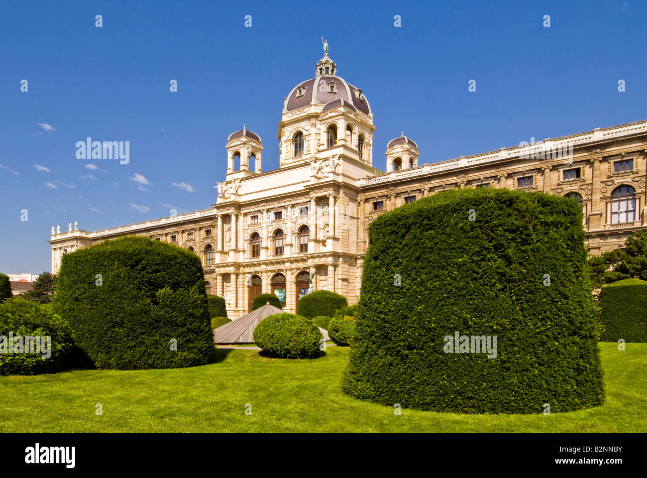 Museum of natural history, Vienna, Austria - Stock Image