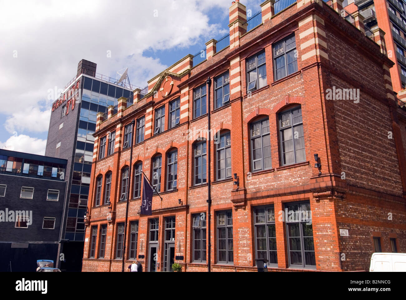 Victorian manchester stock photos victorian manchester for Boutique hotel uk