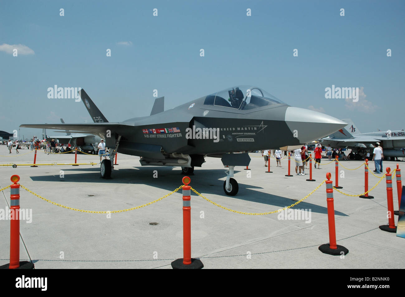 F-35 Lightning Joint Strike Fighter - Stock Image
