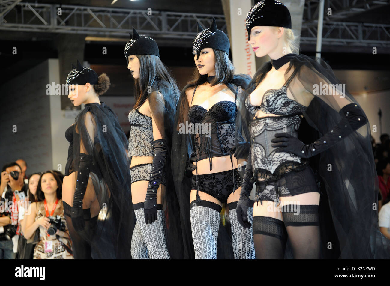 Triumph new lingeries released in 798 art zone, Beijing, China. 31-Jul-2008 - Stock Image