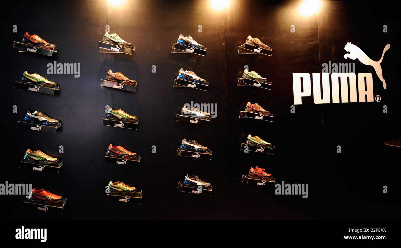 PUMA sports shoes. 05-Aug-2008 - Stock Image