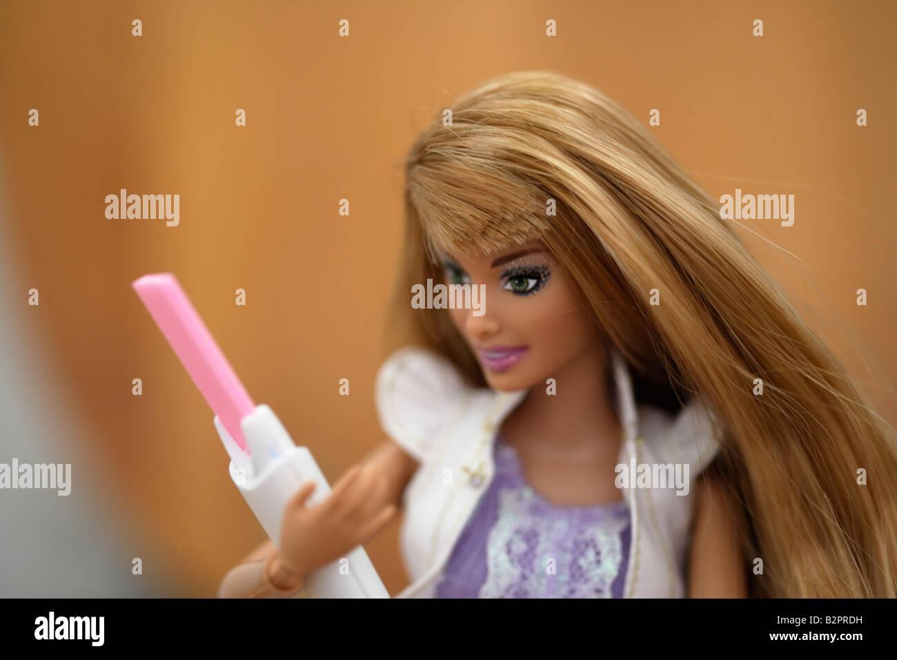 Pregnant barbie doll eventually necessary