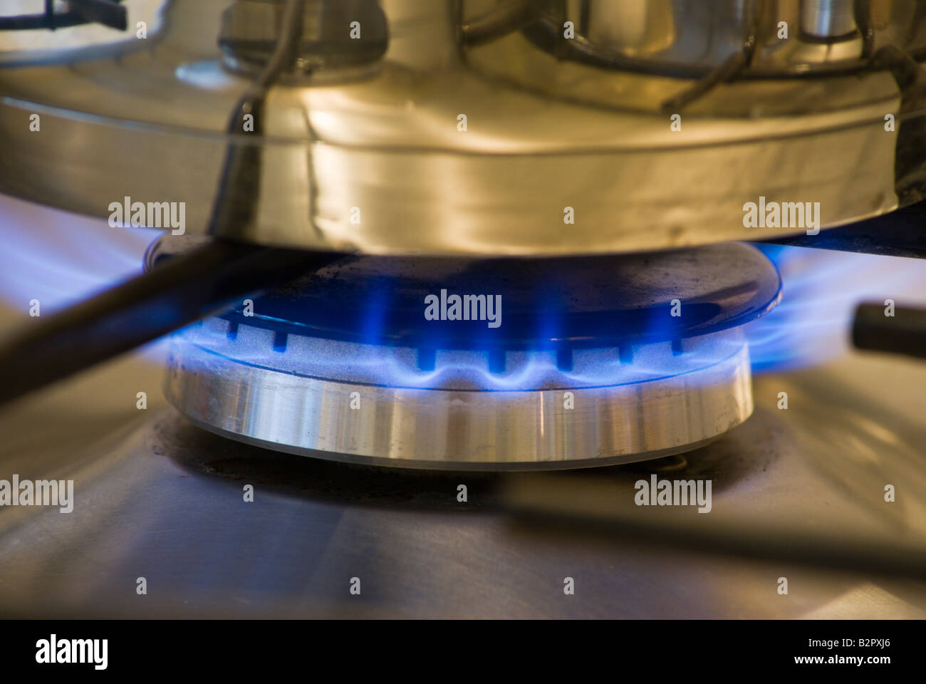 Cooking with gas - Stock Image