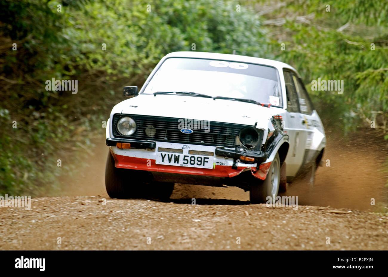 Escort Mk2 Rally Car Stock Photos & Escort Mk2 Rally Car Stock ...