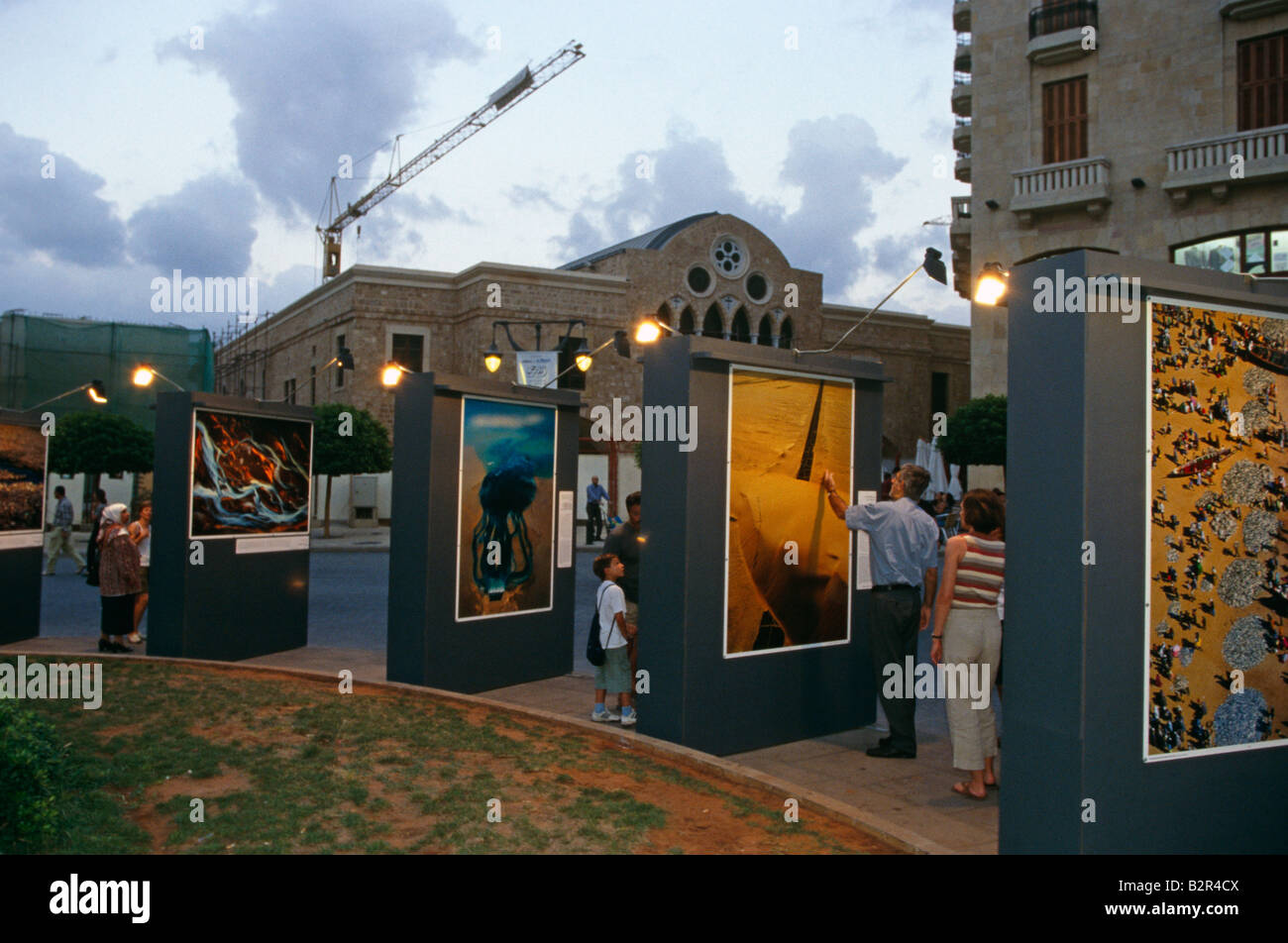 Outdoor Exhibition Stall : An outdoor photography exhibition at solidare district of