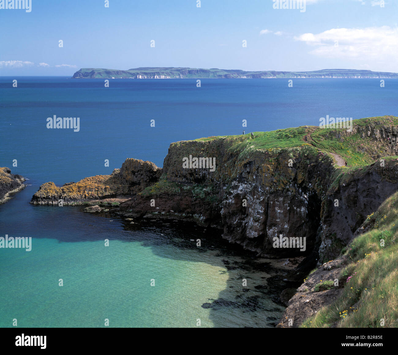hedland, north antrim coast, ulster, northern ireland  beauty in nature, - Stock Image