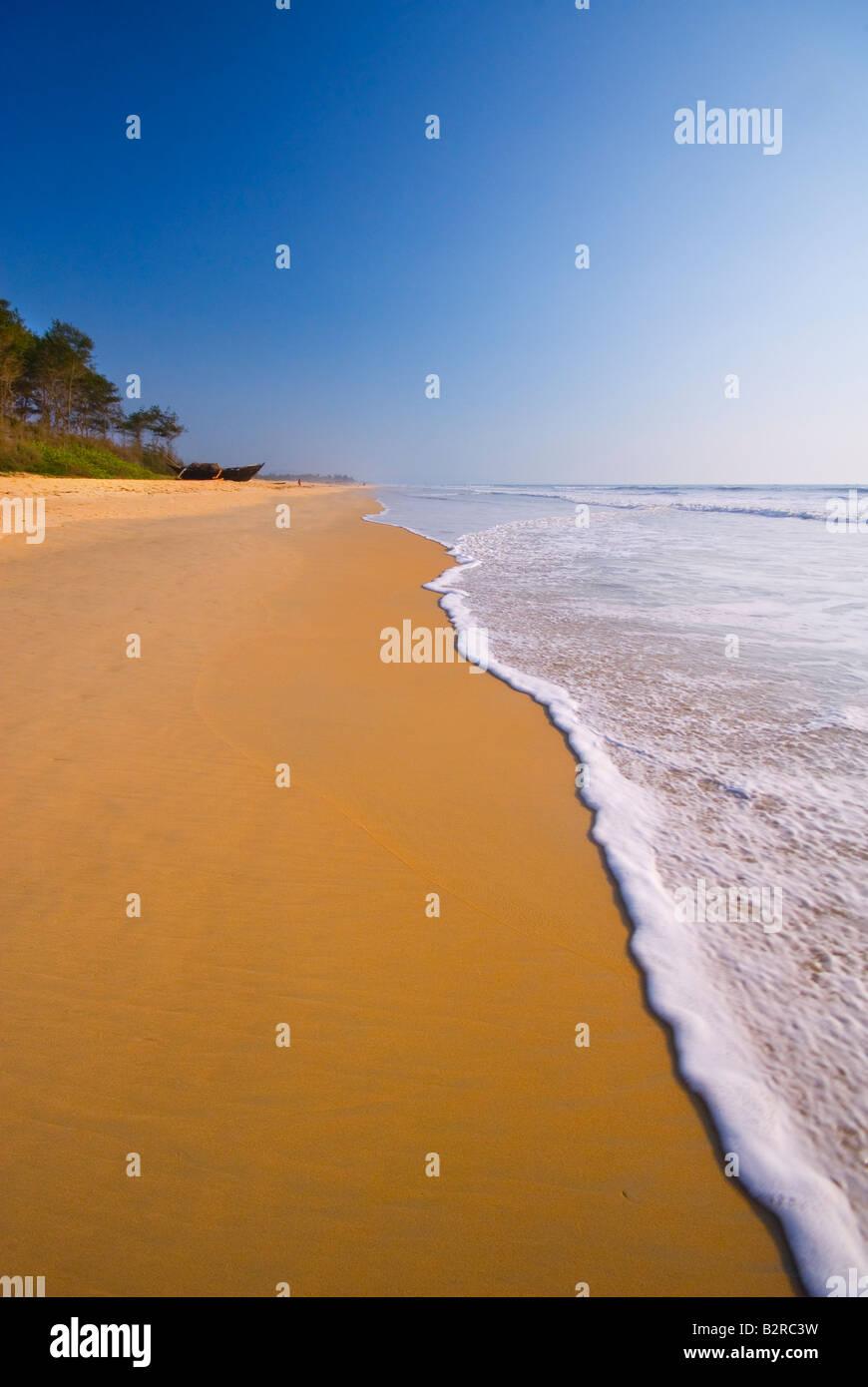 Varca Beach, Goa, India, Subcontinent, Asia - Stock Image