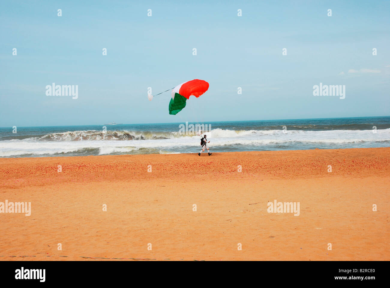 Indian paratrooper - Stock Image