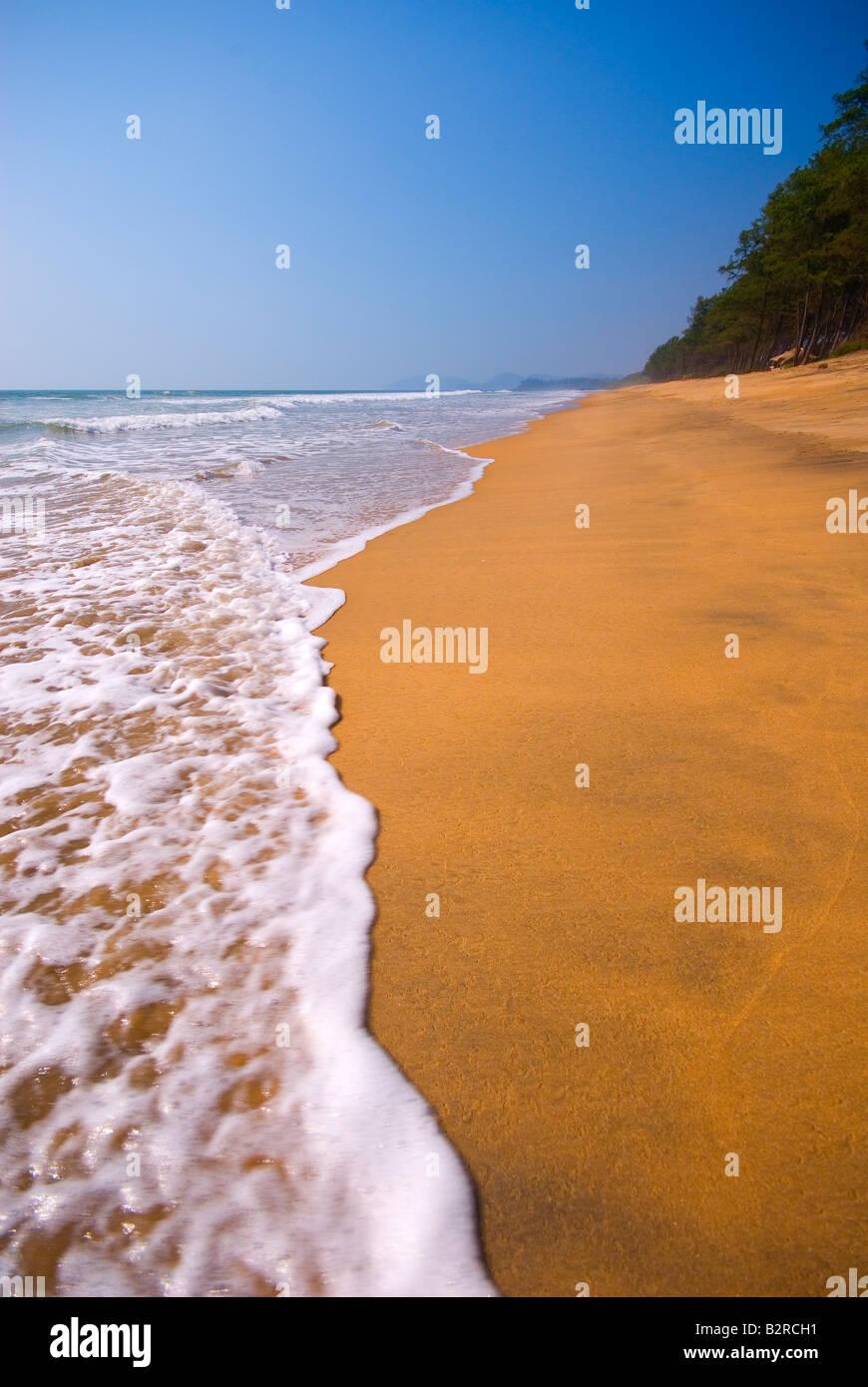 Canacona Beach, Goa, India, Subcontinent, Asia - Stock Image