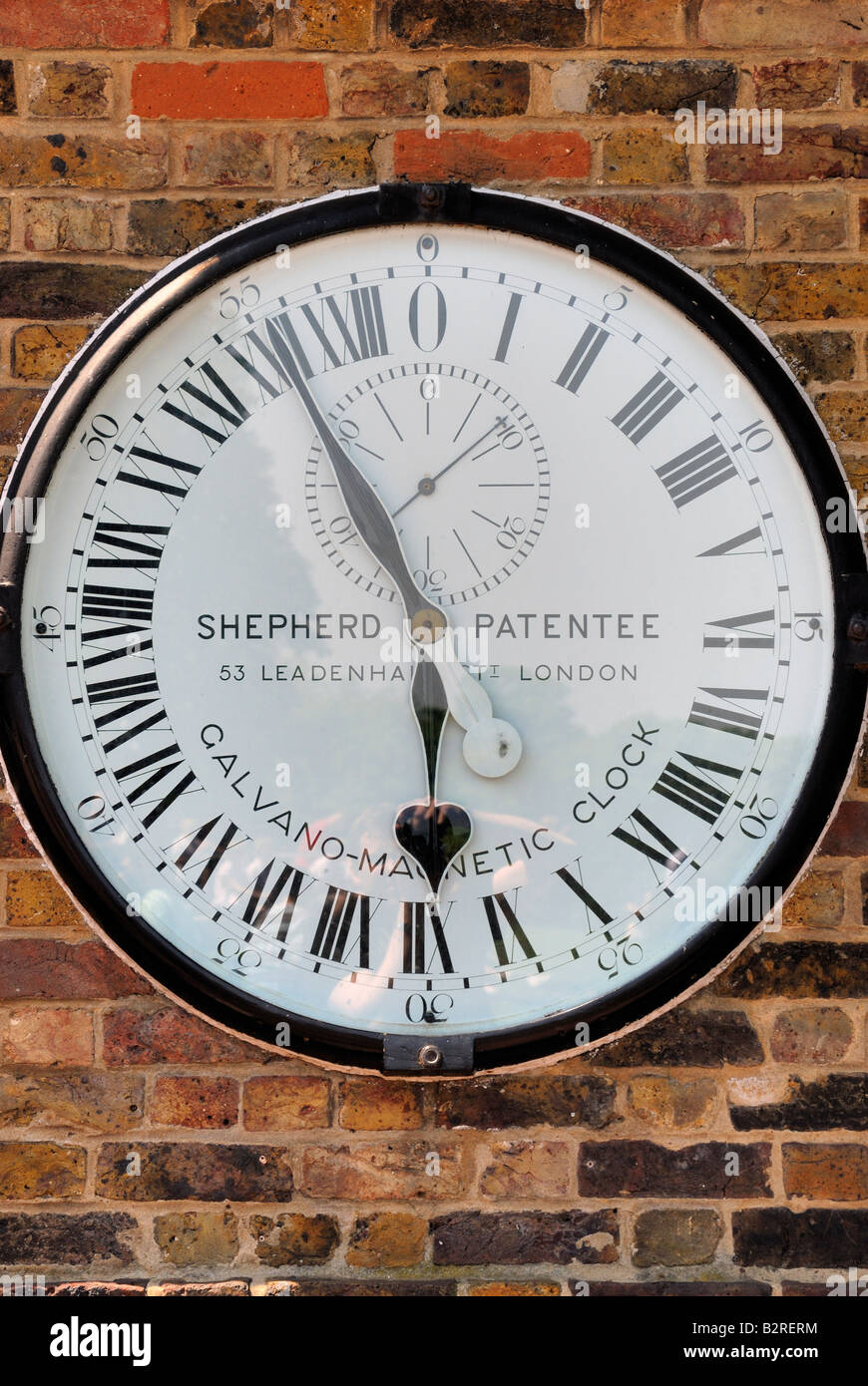 24 hour clock,Royal Observatory,Greenwich - Stock Image
