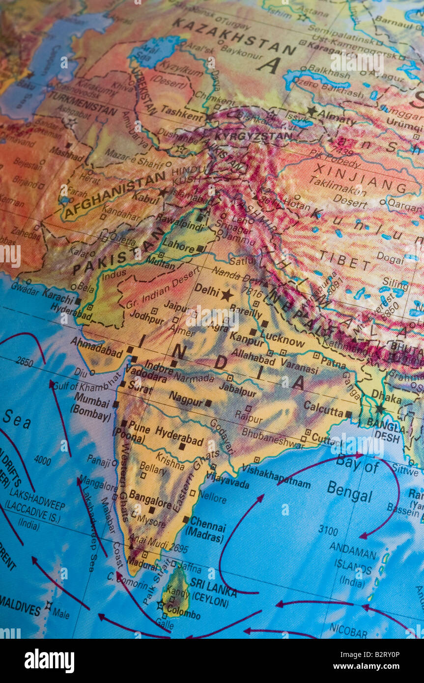 India region on map stock photo 18965766 alamy india region on map gumiabroncs Gallery