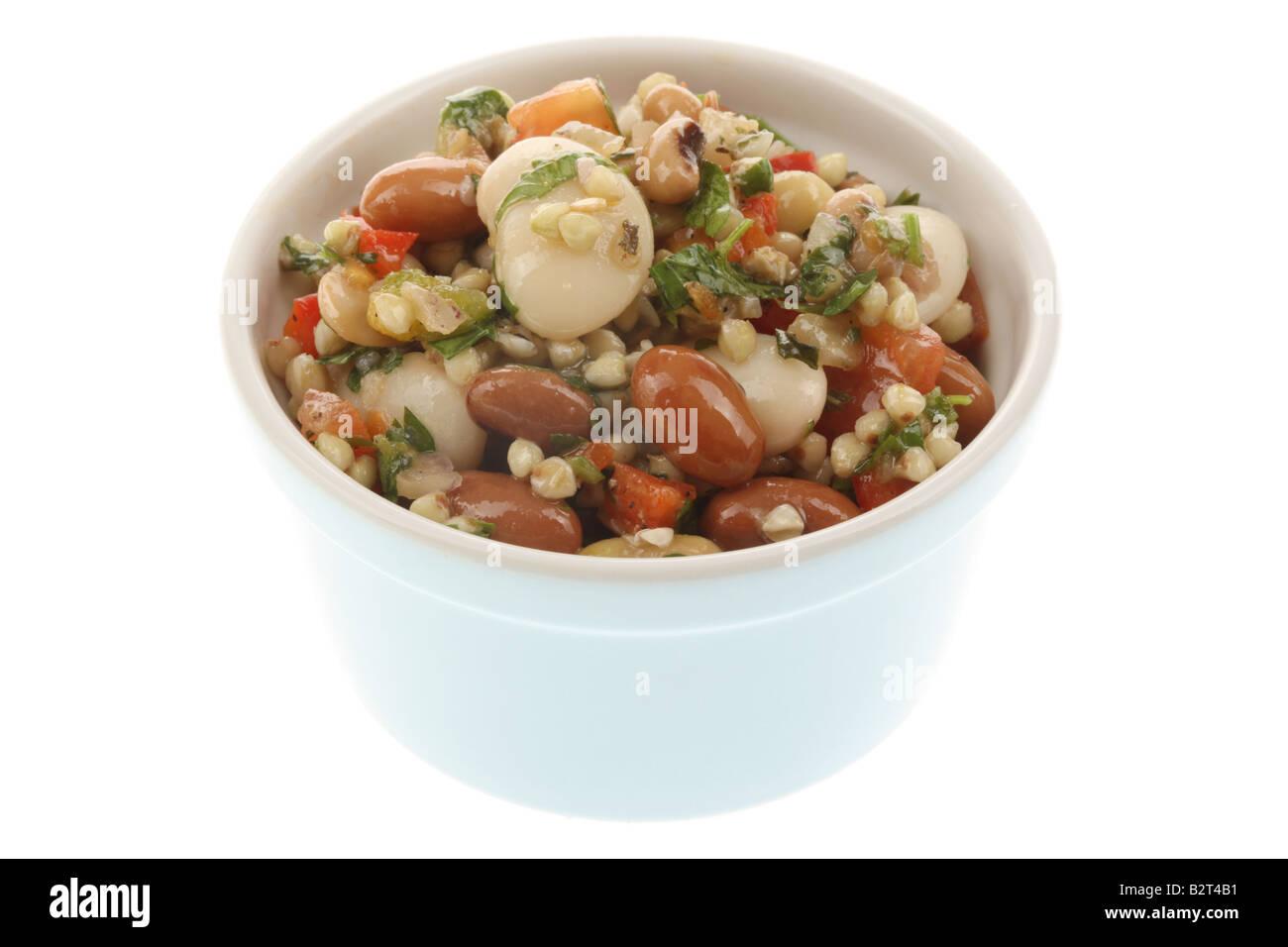 Four Bean Salad - Stock Image