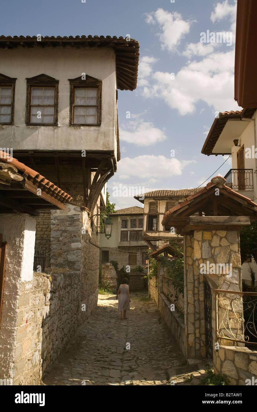 Greece Macedonia Kastoria Doltso district - Stock Image
