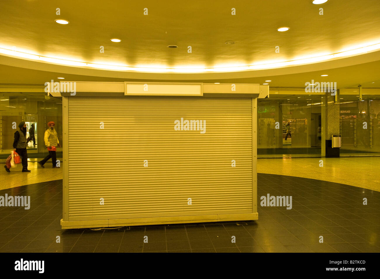 Vacant premises in Ealing Broadway Shopping Centre W5 Ealing London United Kingdom - Stock Image