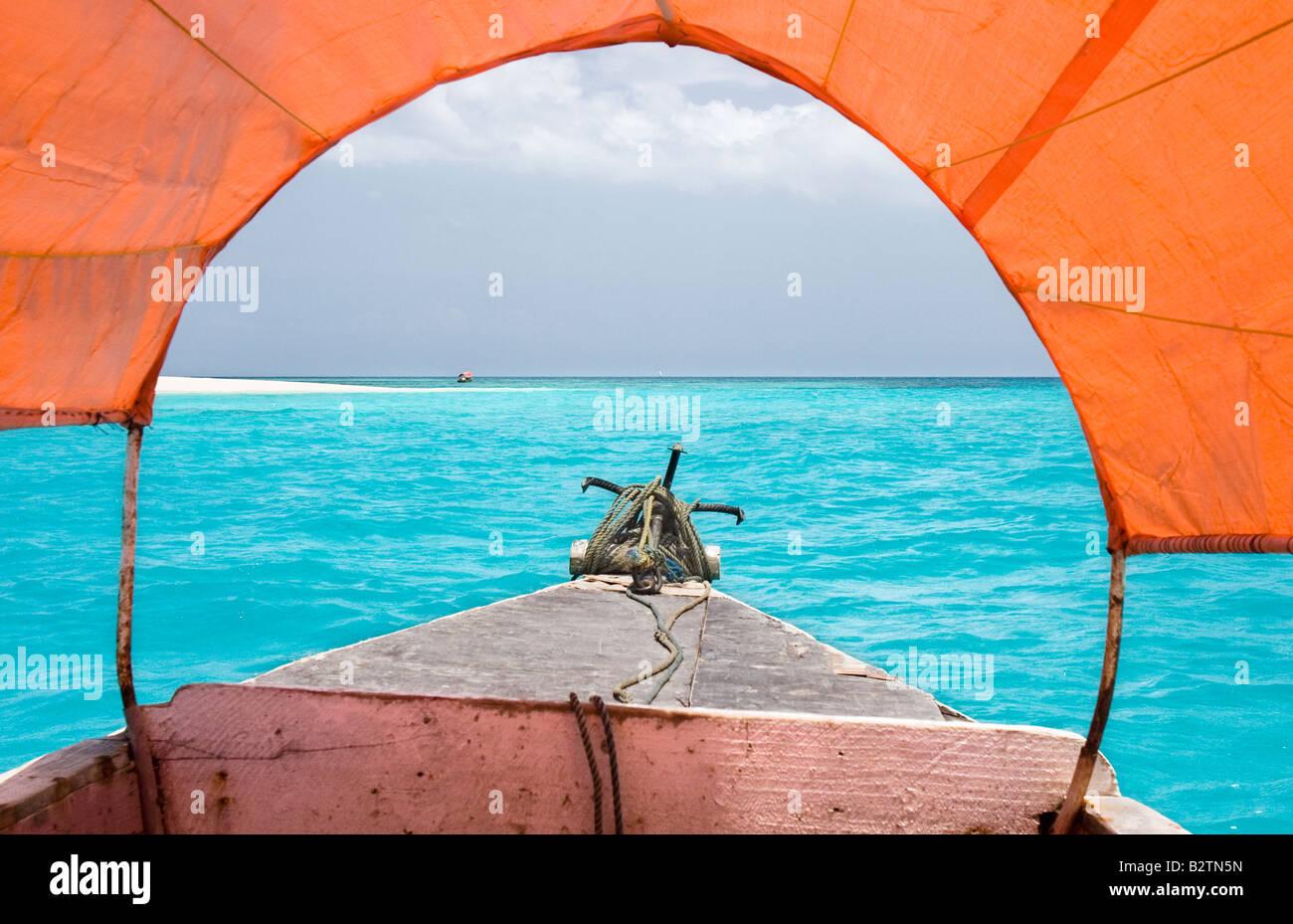 zanzibar beach - Stock Image