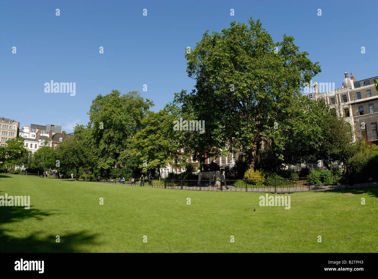 Lincoln's Inn Fields, London - Stock Image