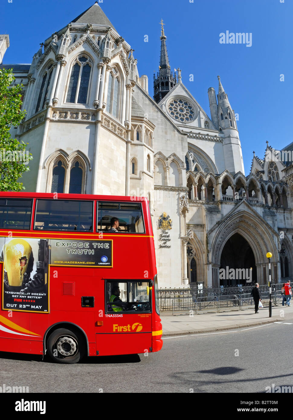 Royal Courts of Justice, London - Stock Image