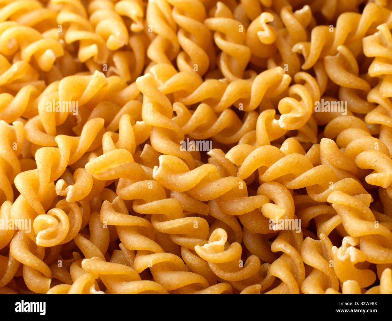 Spiral pasta - Stock Image
