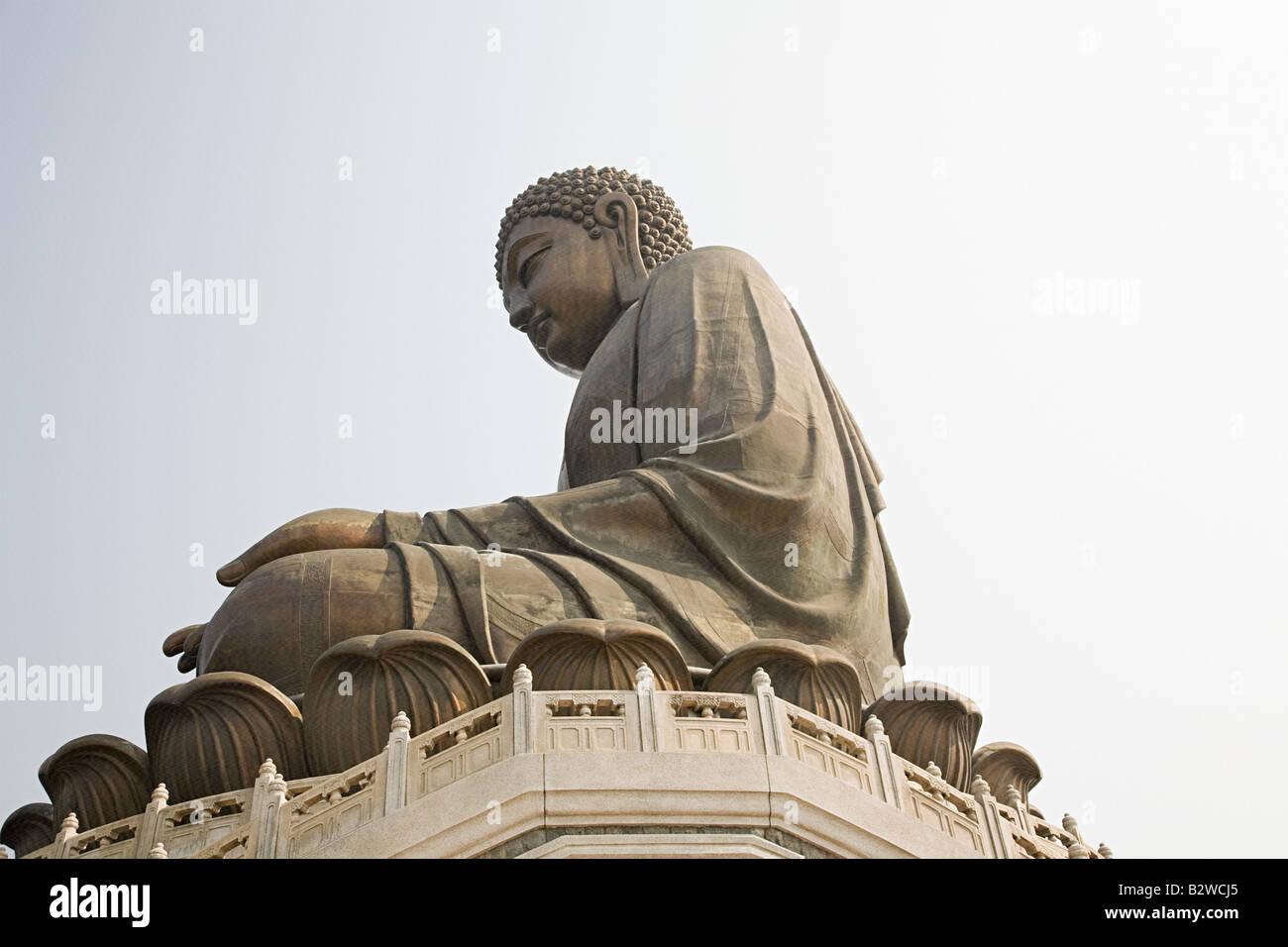 Tian tan buddha - Stock Image