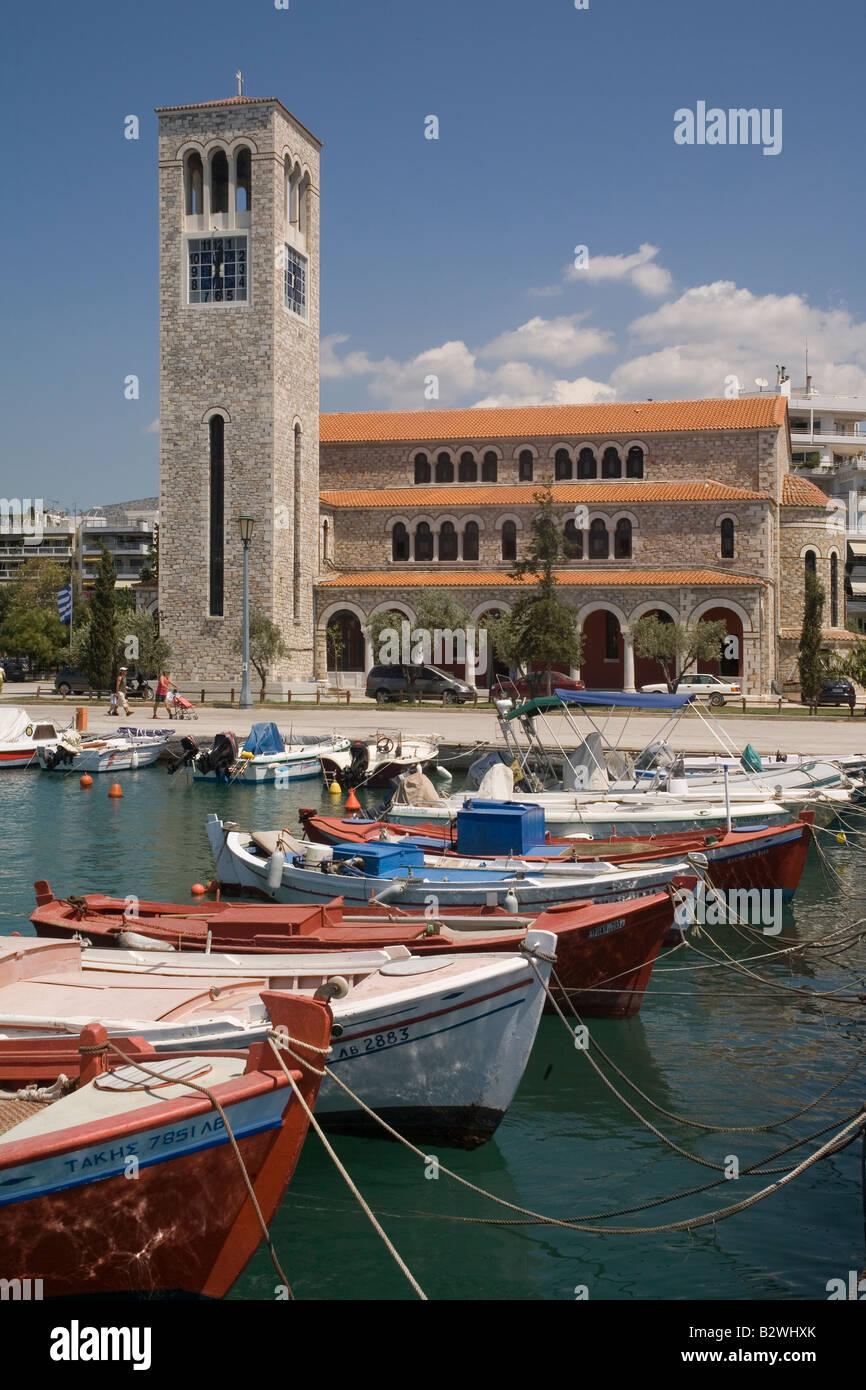Greece Thessaly Volos Agios Konstantinos church - Stock Image