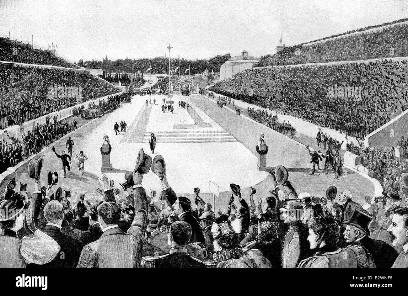 Revival of Olympic Games in 1896