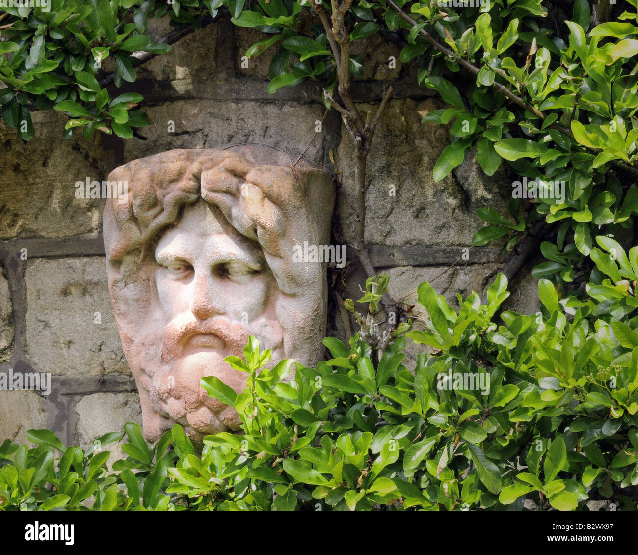 GB - GLOUCESTERSHIRE: Garden Detail at Parkgate, Cheltenham - Stock Image
