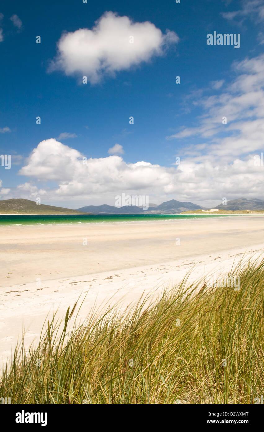 Seilebost beach, Isle of Harris, Hebrides, Scotland, UK - Stock Image