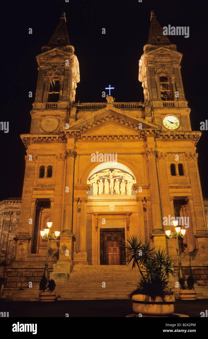 Cathedral, Alberobello, Province of Bari, Apulia, Italy - Stock Image