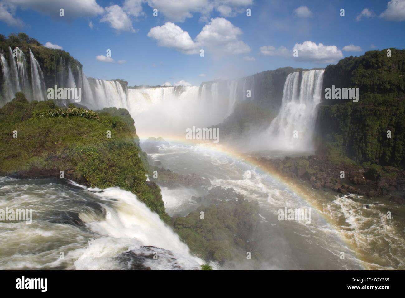 Parque Nacional Do Iguacu Brazil - Stock Image