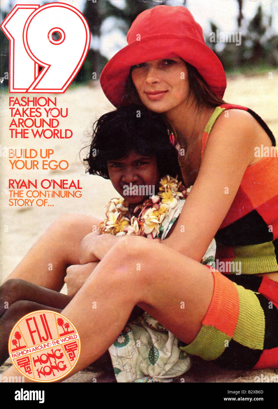 1970s 19 Magazine for young teenage girls July 1971 FOR EDITORIAL USE ONLY - Stock Image