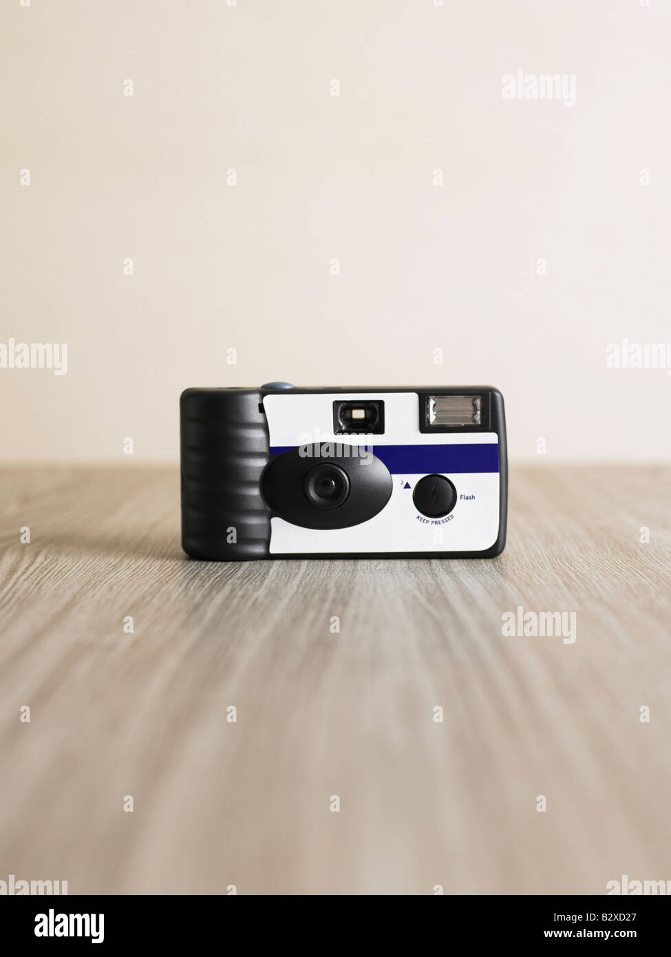 disposable camera - Stock Image